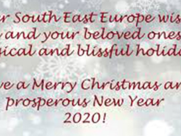 Keller South East Europe wishes you a Merry Christmas - Happy New Year 2020